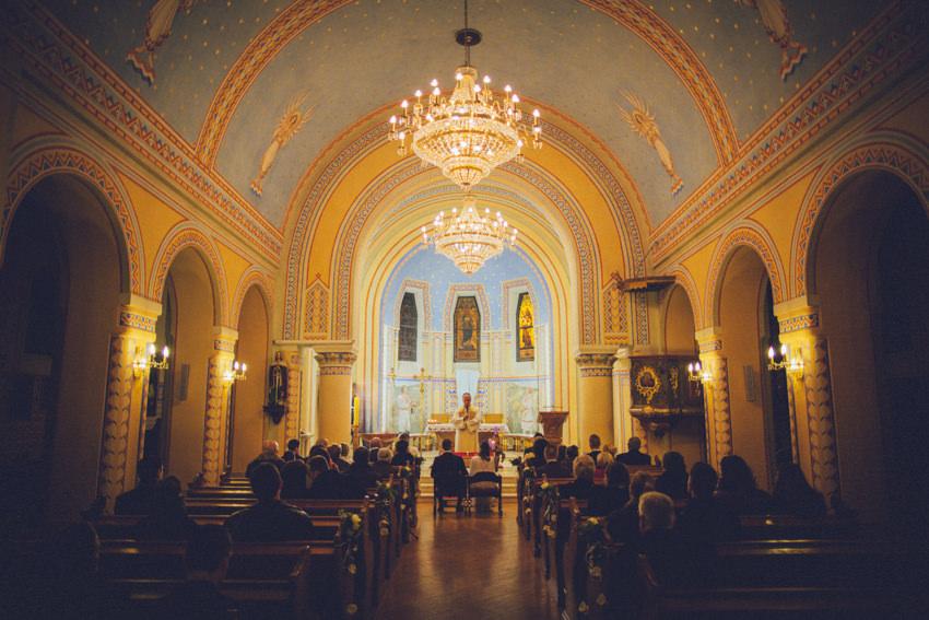 Šestinska crkva ceremonija