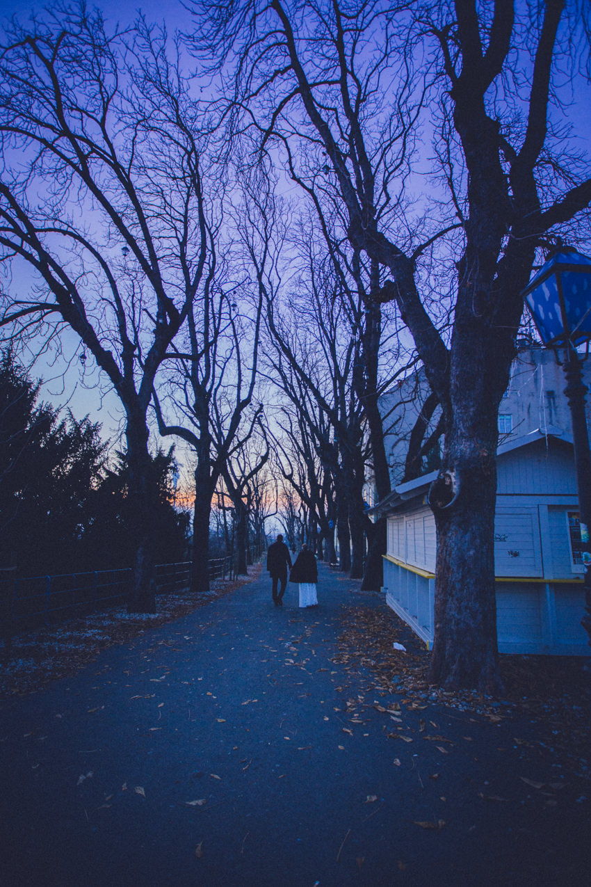 šetnja Strossmayerovim šetalištem u Zagrebu