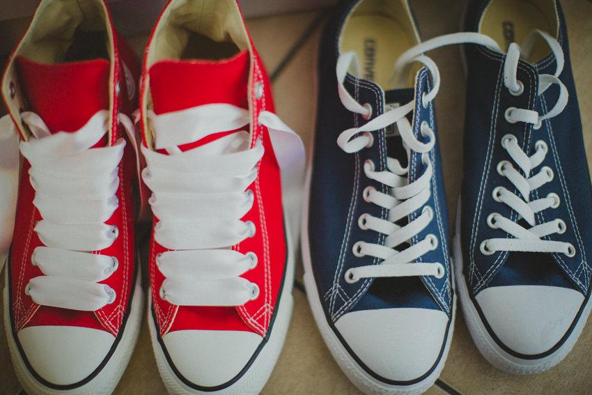 vjenčane cipele mladenke i mladoženje