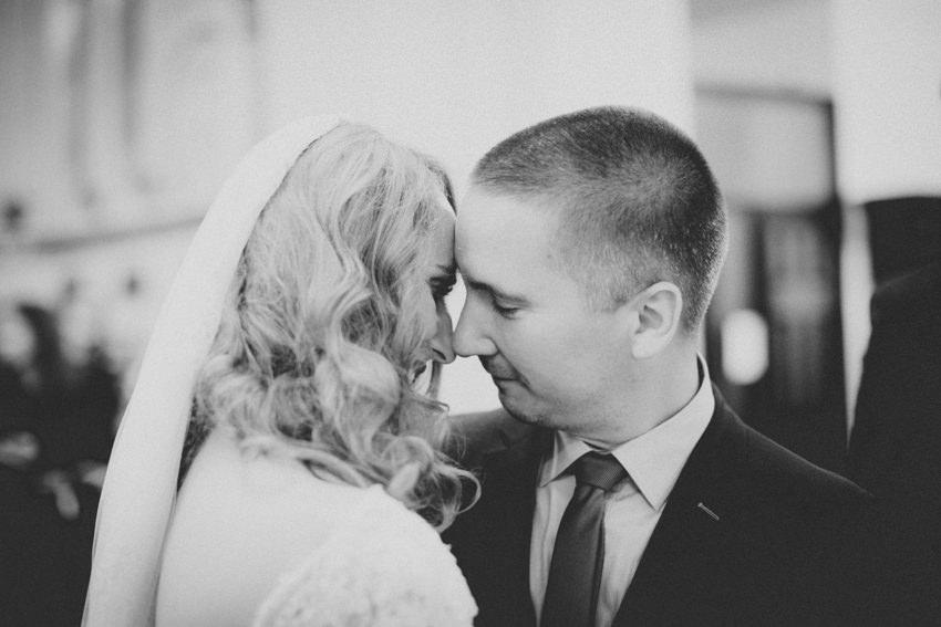 poljubac na kraju ceremonije