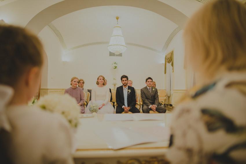 ceremonija kod matičara u Gornjogradskoj vijećnici