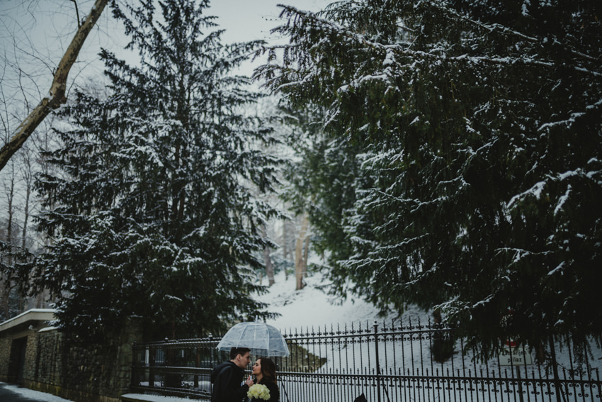 šetnja u zimskom zagrebu