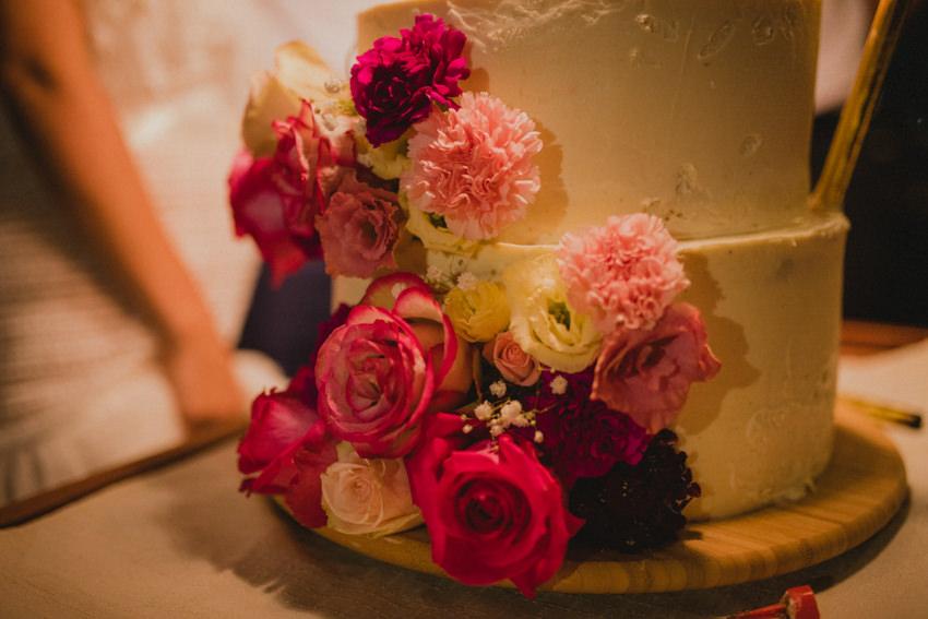 cvijetni detalj torte